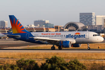 N302NV - Allegiant Air Airbus A319