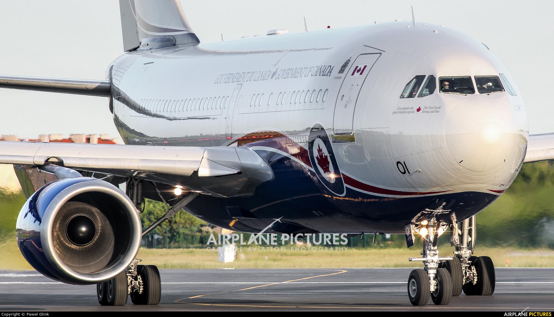 Canada - Air Force 15001 aircraft at Gdańsk - Lech Wałęsa