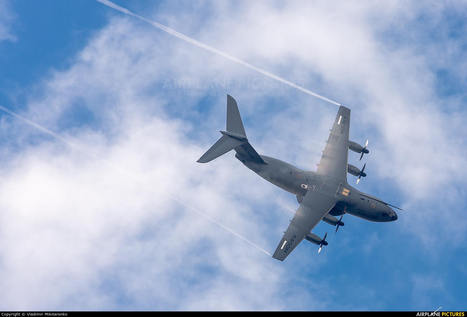 Airbus Military F-WWMZ aircraft at Fairford