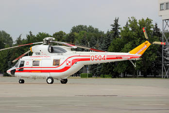 0504 - Poland - Air Force PZL W-3 Sokół