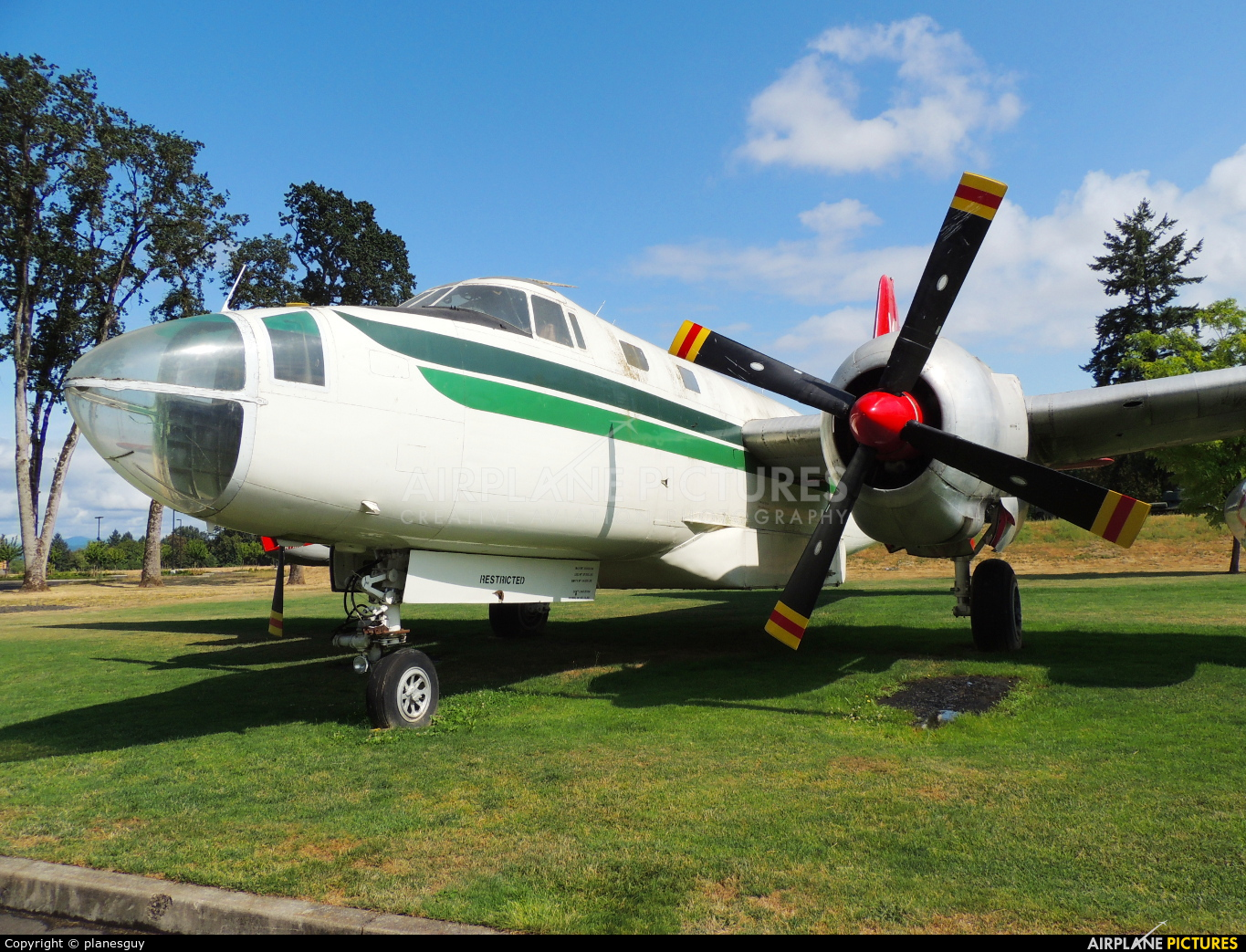 Evergreen N202EV aircraft at McMinnville - Evergreen Aviation & Space Museum