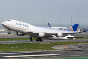 N181UA - United Airlines Boeing 747-400 aircraft