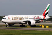 A6-EWJ - Emirates Airlines Boeing 777-200LR aircraft