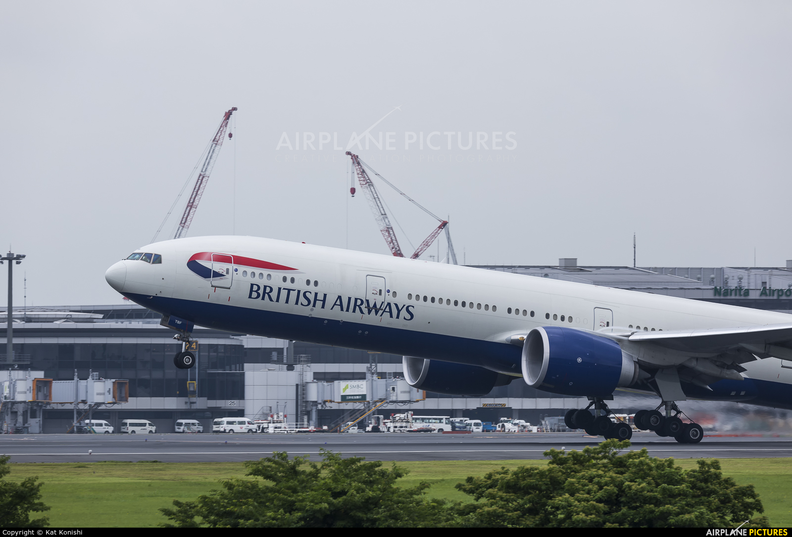 British Airways G-STBF aircraft at Tokyo - Narita Intl