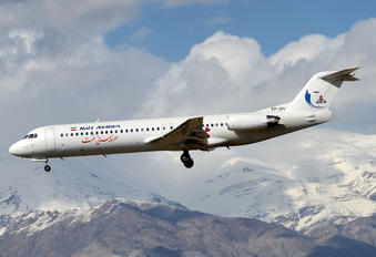 EP-OPI - Naft Airlines Fokker 100