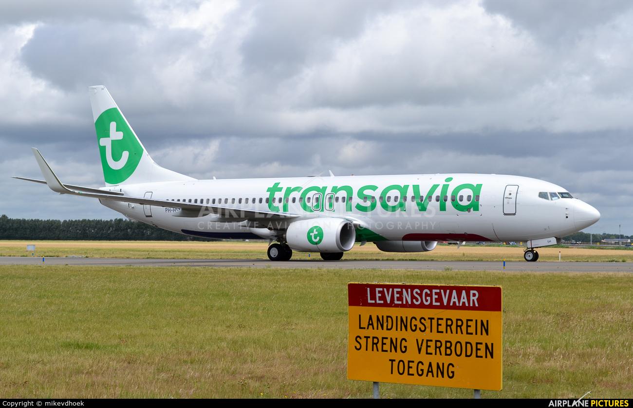 Transavia PH-HSM aircraft at Amsterdam - Schiphol