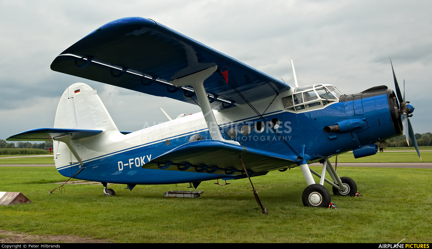 Private D-FOKY aircraft at Deventer - Teuge