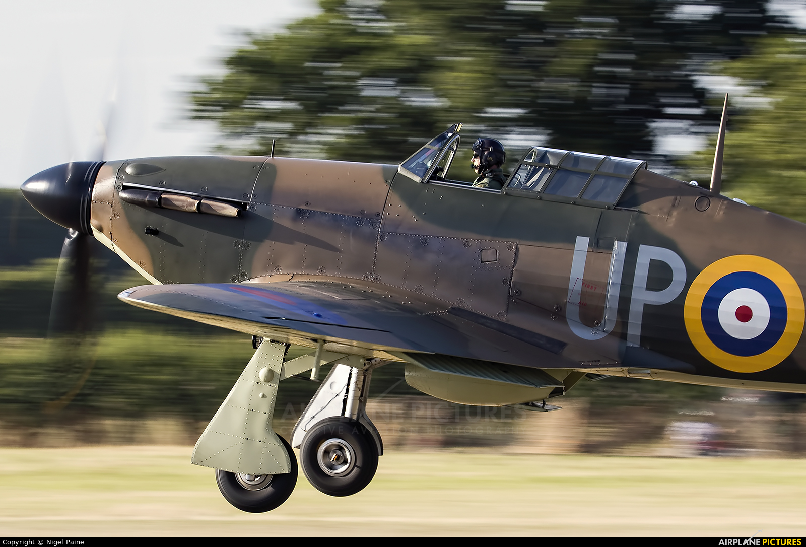 Private G-HUPW aircraft at Lashenden / Headcorn