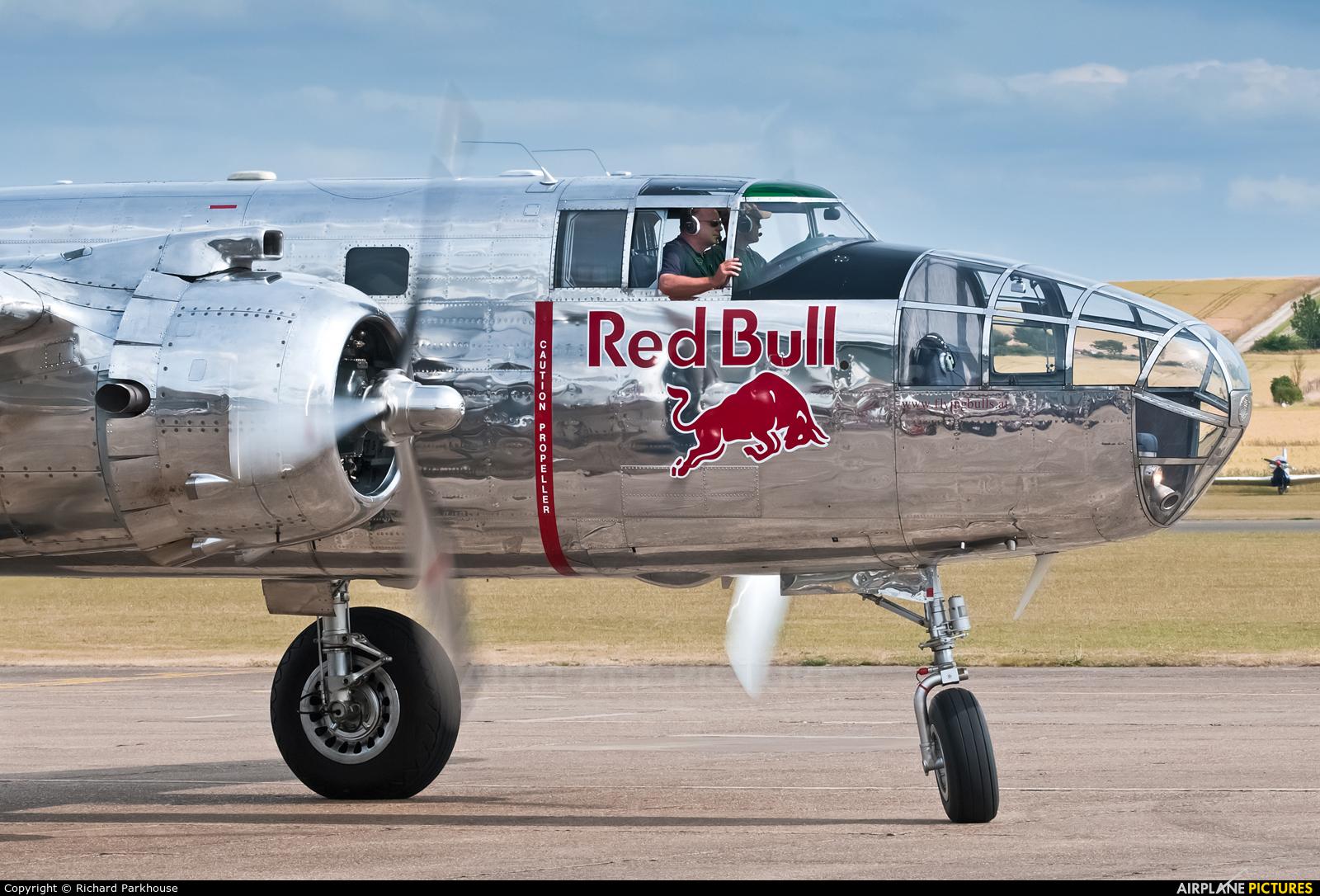 The Flying Bulls N6123C aircraft at Duxford