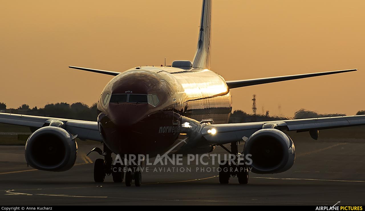 Norwegian Air Shuttle LN-NGX aircraft at Warsaw - Frederic Chopin