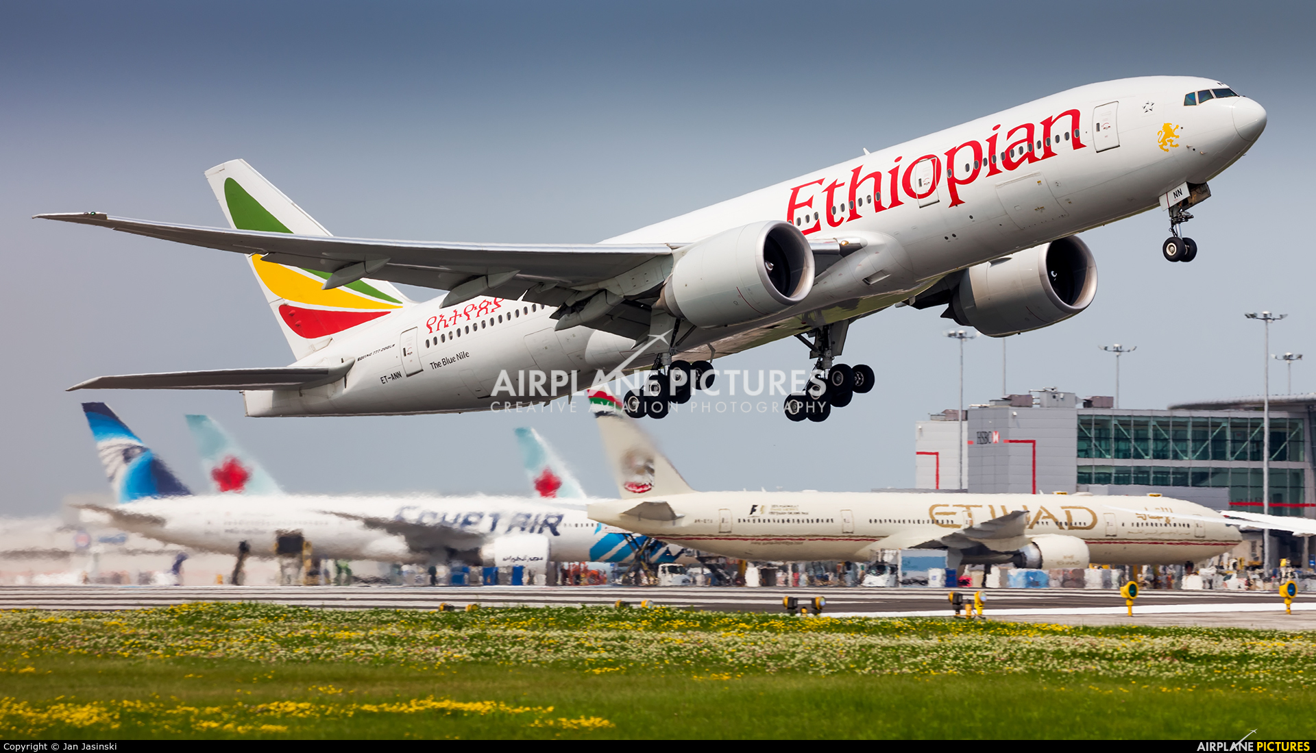 Ethiopian Airlines ET-ANN aircraft at Toronto - Pearson Intl, ON