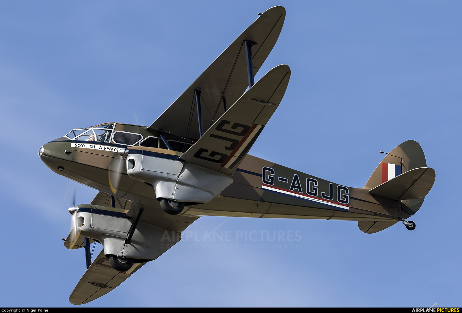 Private G-AGJG aircraft at Lashenden / Headcorn