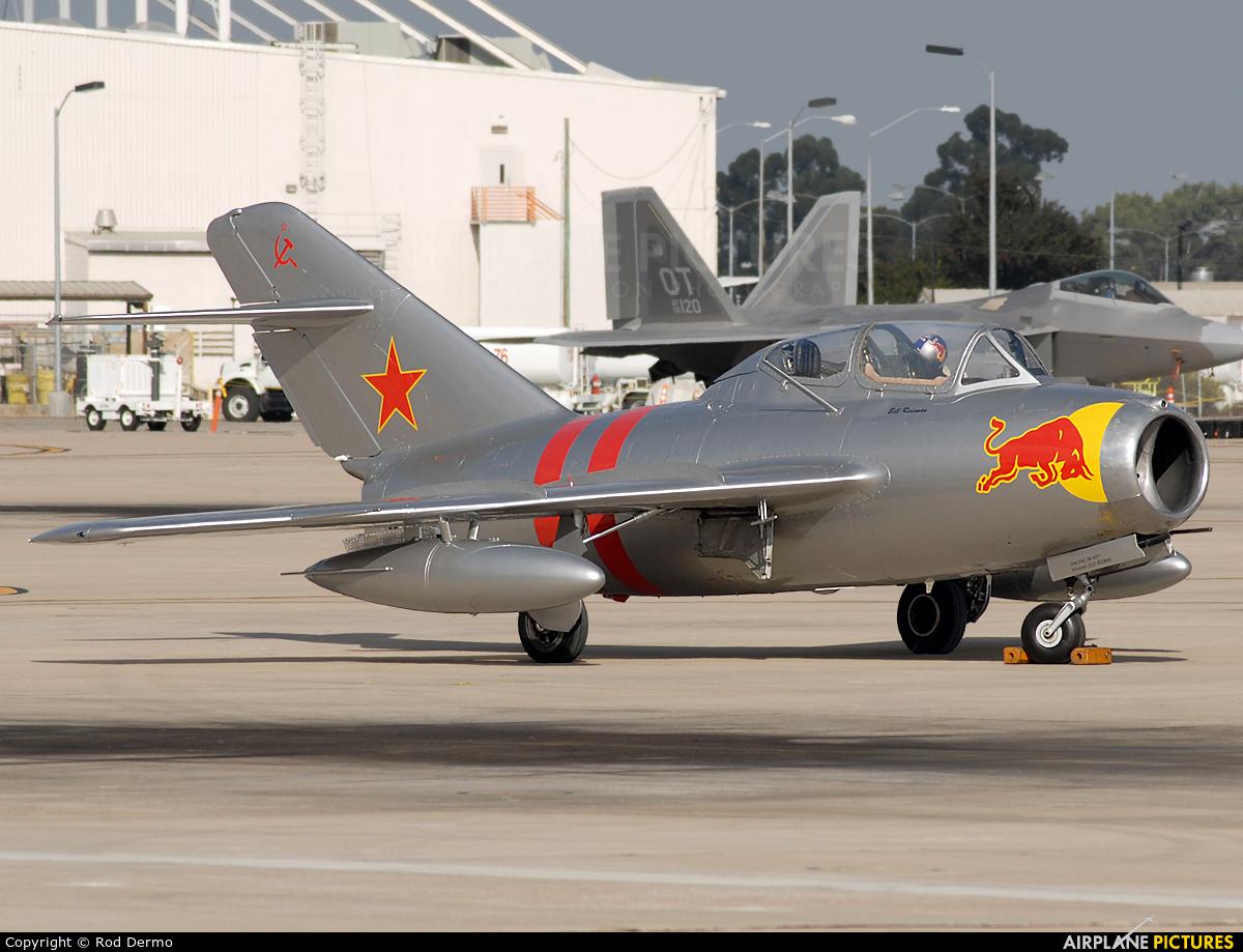 Planes of Fame Air Museum NX687 aircraft at Miramar MCAS / Mitscher Field