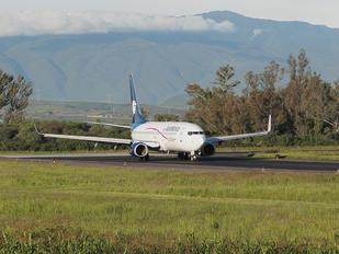 N859AM - Aeromexico Boeing 737-800