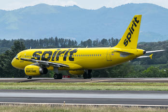 N607NK - Spirit Airlines Airbus A320