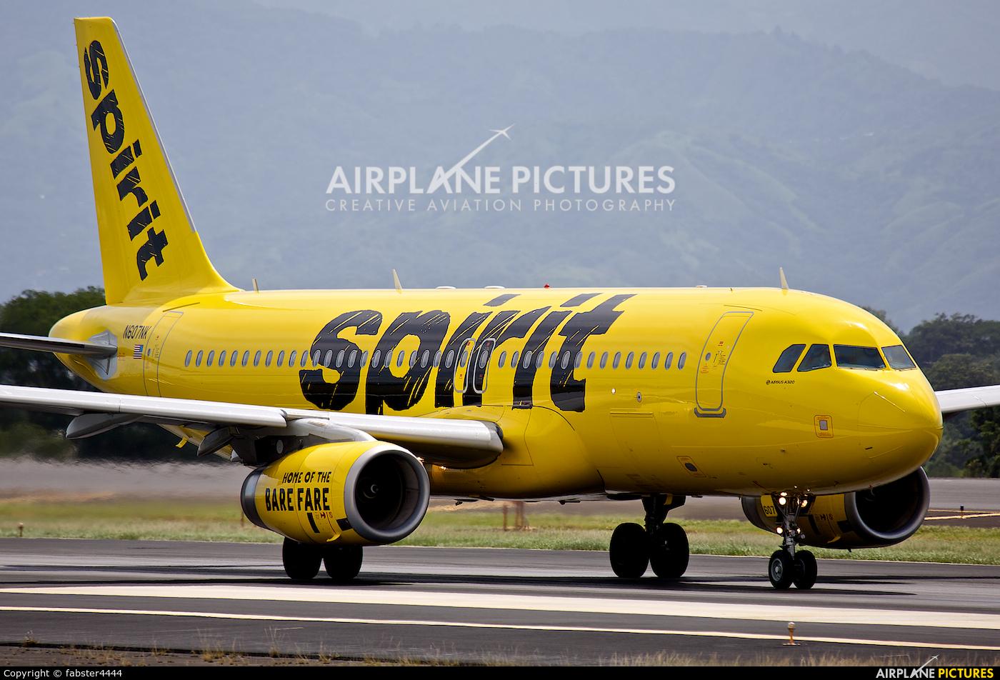 Spirit Airlines N607NK aircraft at San Jose - Juan Santamaría Intl