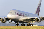 A7-APD - Qatar Airways Airbus A380 aircraft