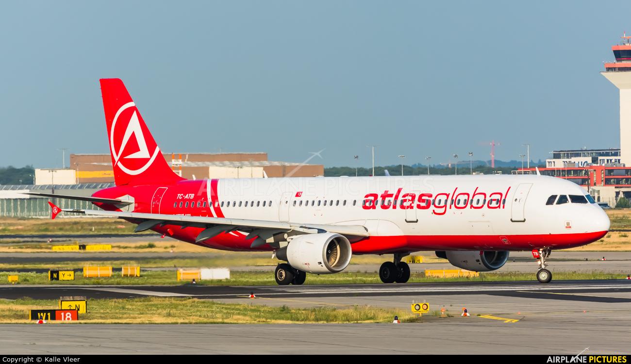 Atlasglobal TC-ATB aircraft at Frankfurt
