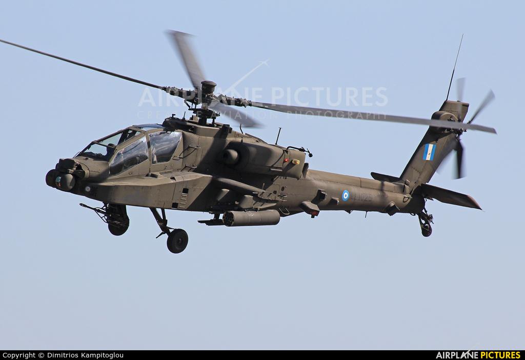Greece - Hellenic Army ES1025 aircraft at Nea Anghialos AB