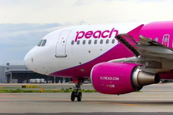 JA814P - Peach Aviation Airbus A320