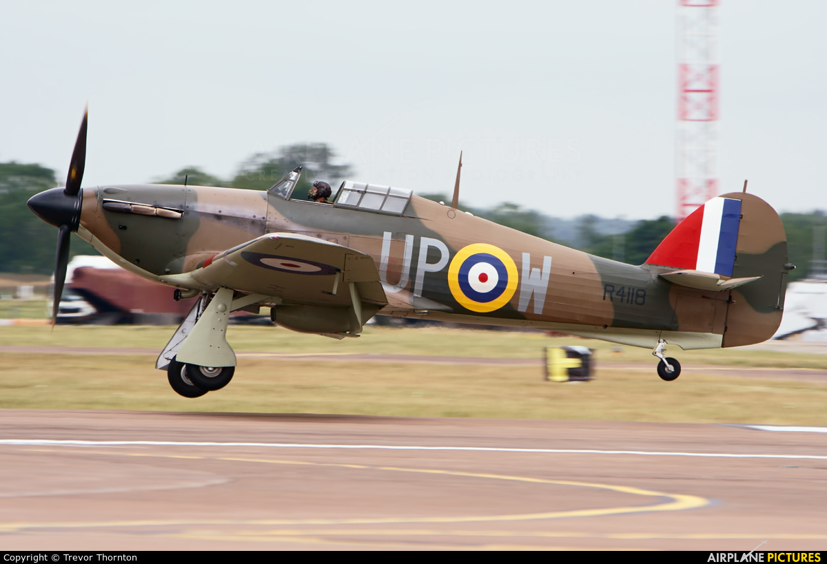 Private G-HUPW aircraft at Fairford