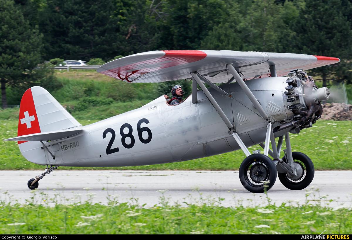 Private HB-RAG aircraft at Ambri