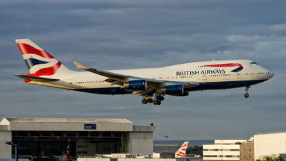 G-CIVN - British Airways Boeing 747-400