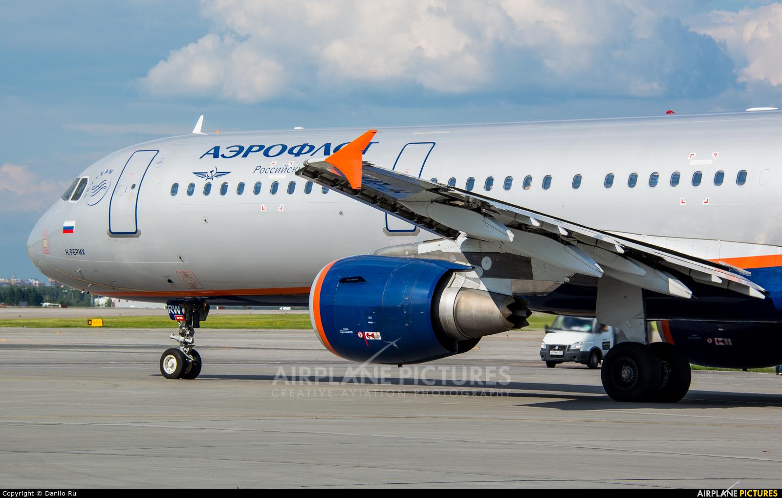 Aeroflot VP-BRW aircraft at Moscow - Sheremetyevo