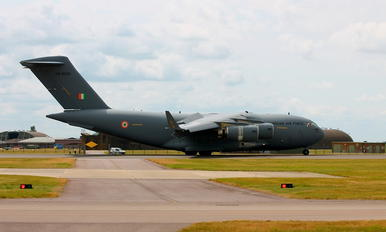 CB-8008 - India - Air Force Boeing C-17A Globemaster III