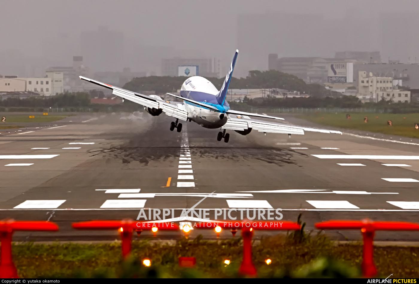 ANA Wings JA356K aircraft at Osaka - Itami Intl
