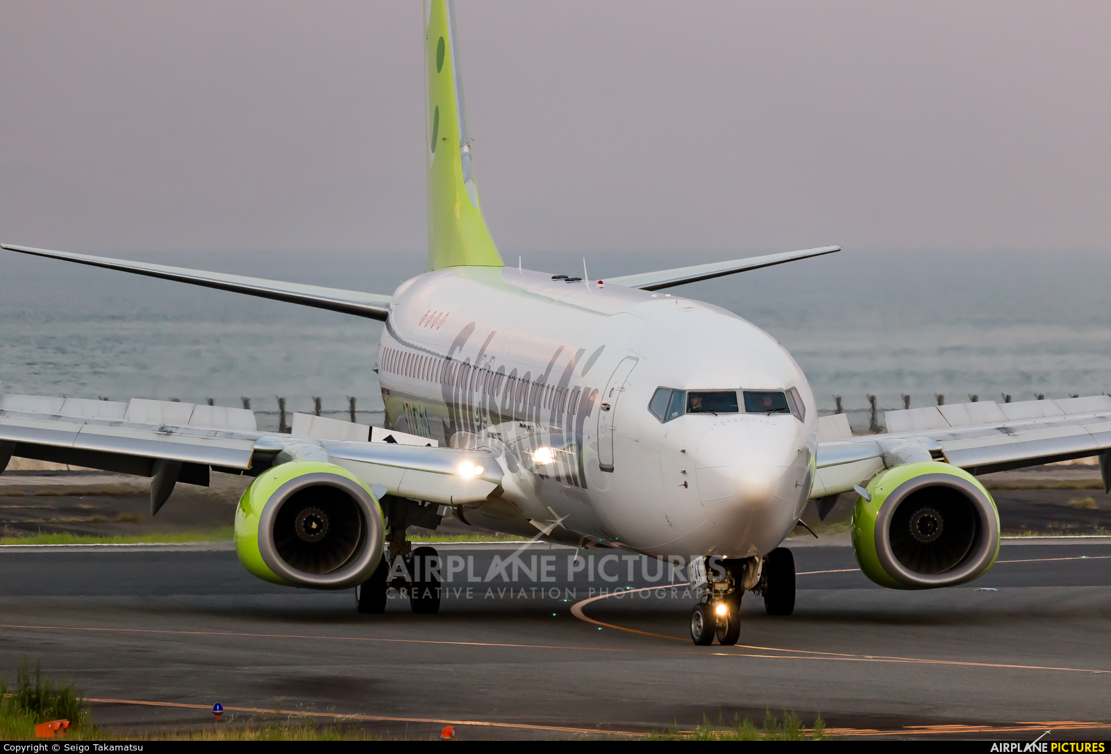 Solaseed Air - Skynet Asia Airways JA804X aircraft at Oita