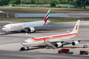 EC-JFX - Iberia Airbus A340-600