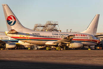 N7820L - China Eastern Airlines Boeing 737-700