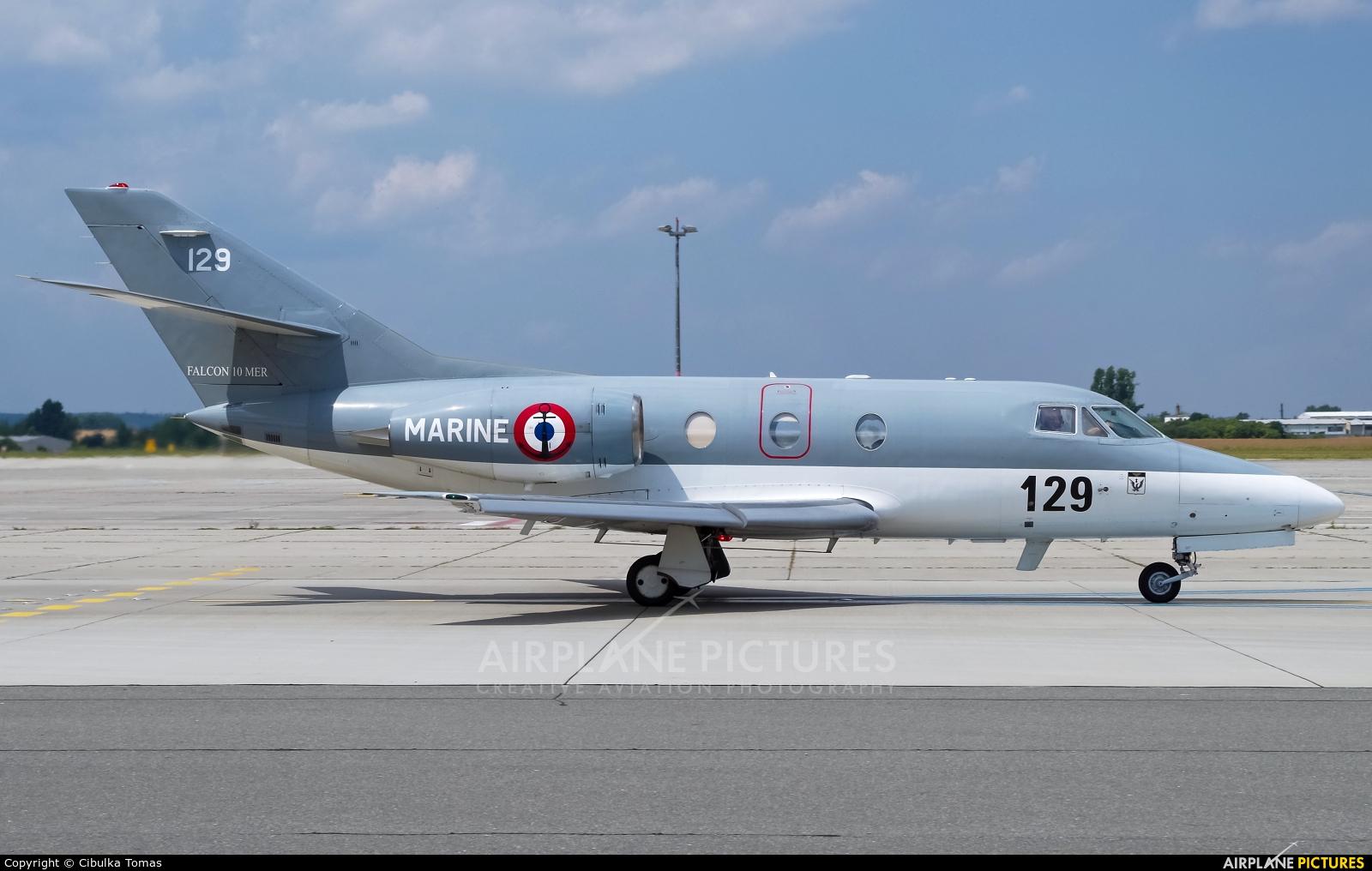 France - Navy 129 aircraft at Prague - Václav Havel