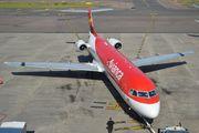 PR-OAJ - Avianca Brasil Fokker 100 aircraft