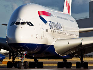 G-XLEC - British Airways Airbus A380