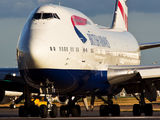 G-BYGG - British Airways Boeing 747-400 aircraft