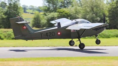 T-420 - Denmark - Air Force SAAB MFI T-17 Supporter