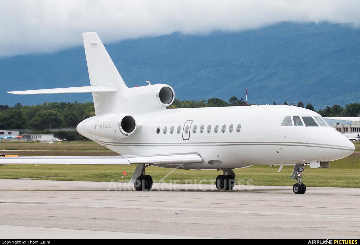 Private M-ATEX aircraft at Geneva Intl