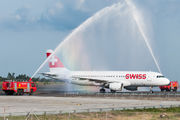 HB-IJP - Swiss Airbus A320 aircraft