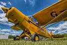 Private Piper PA-18 Super Cub G-HACK at Marburg-Schönstadt  airport
