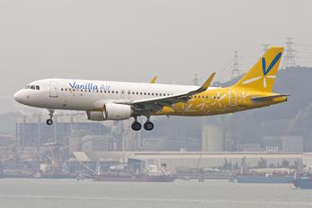 JA08VA - Vanilla Air Airbus A320
