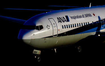 JA61AN - ANA - All Nippon Airways Boeing 737-800