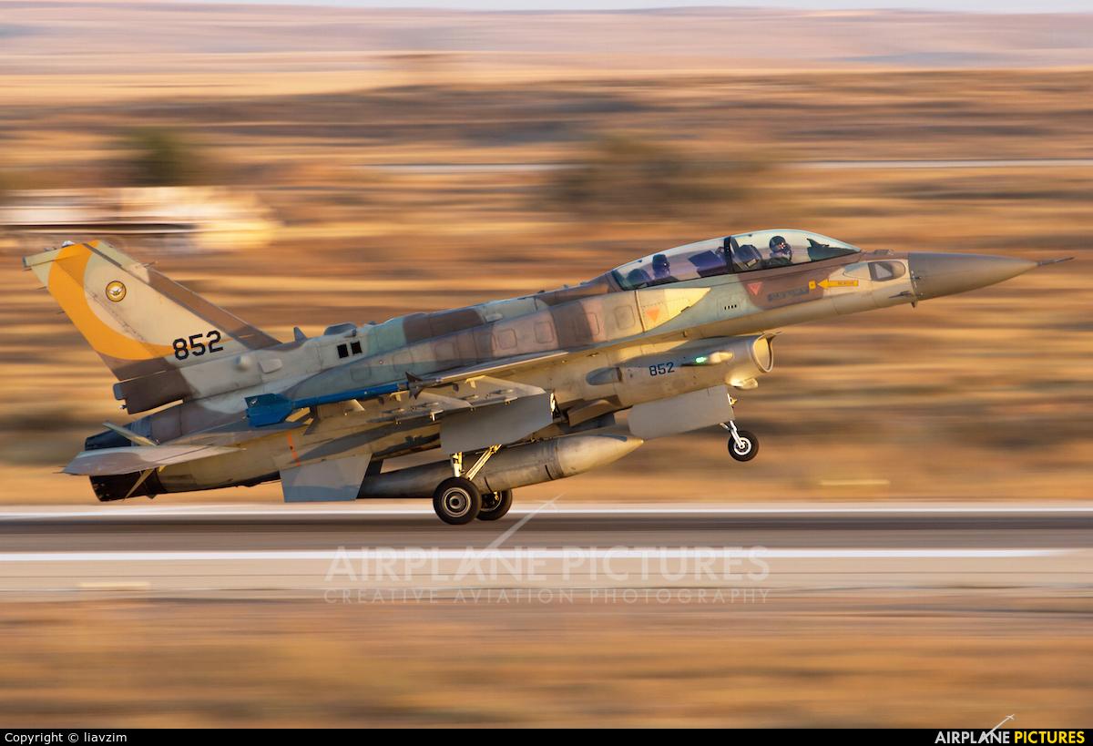 Israel - Defence Force 852 aircraft at Beersheba - Hatzerim