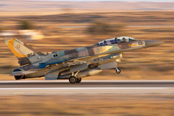 852 - Israel - Defence Force Lockheed Martin F-16C Fighting Falcon