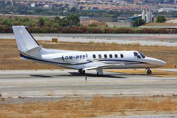 OM-PTT - Private Cessna 550 Citation II