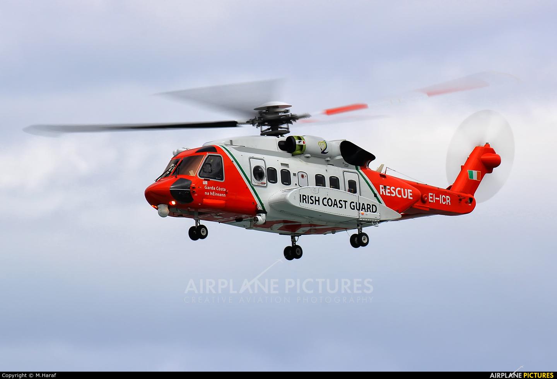 CHC Ireland EI-ICR aircraft at Bray - Off Airport