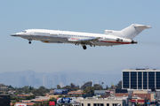 Raytheon Flight Test Operations Boeing 727-200 in Los Angeles title=