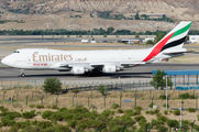 OO-THD - Emirates Sky Cargo Boeing 747-400F, ERF aircraft