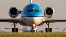 PH-KZO - KLM Cityhopper Fokker 70 aircraft